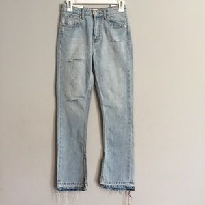 Zara Jeans - The High Rise Straight